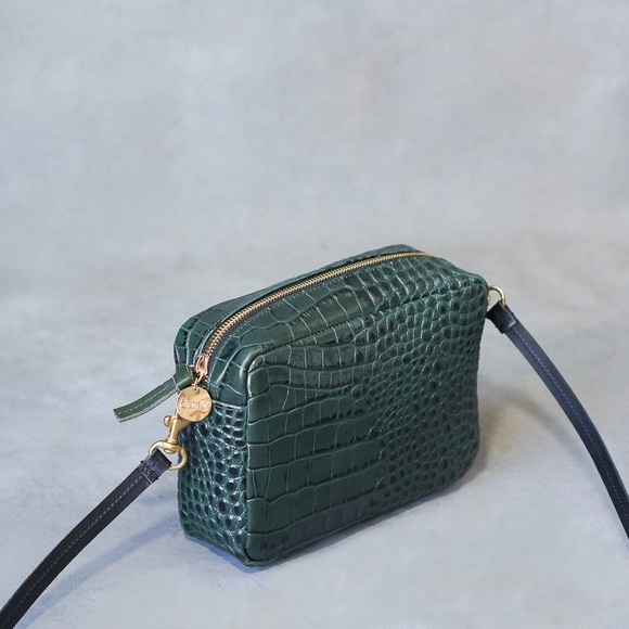 5dba3cf63 Clare Viver Midi Sac Loden Crocodile In Green. M_5c3ea005800deea3b178df1e